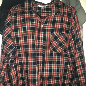 XL - OLD NAVY FLANNEL ( NO FLAWS )
